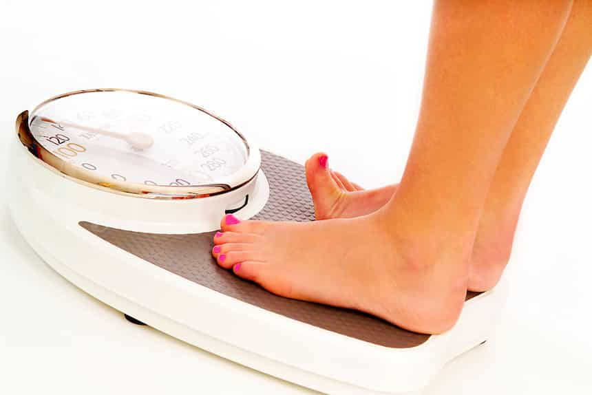 Image result for woman use weight scale