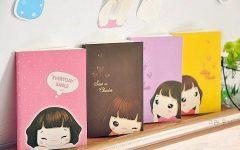 1pack lot New Fashion font b Cute b font font b Lovely b font Girl Notebook 240x150 - Inilah 10 Hal Yang Hanya Dimengerti Si Penggemar Alat Tulis Menulis