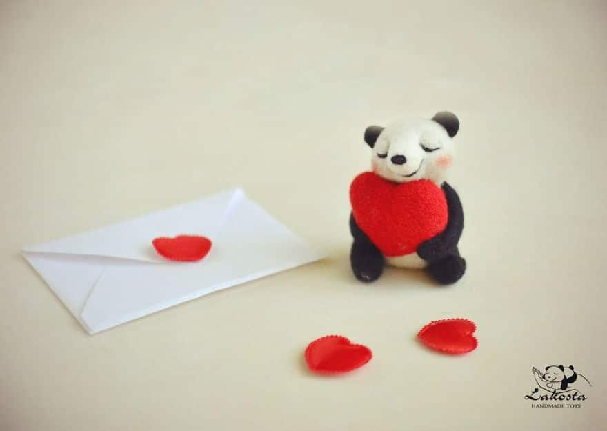 20 Cutest Felted Toys Ever By LaKosta 59b2b3a4ca3f5 880 - Cute Banget, Kamu Pasti Gak Nyangka Kalau 18 Miniatur Hewan Ini Dibuat dari Kain Wol
