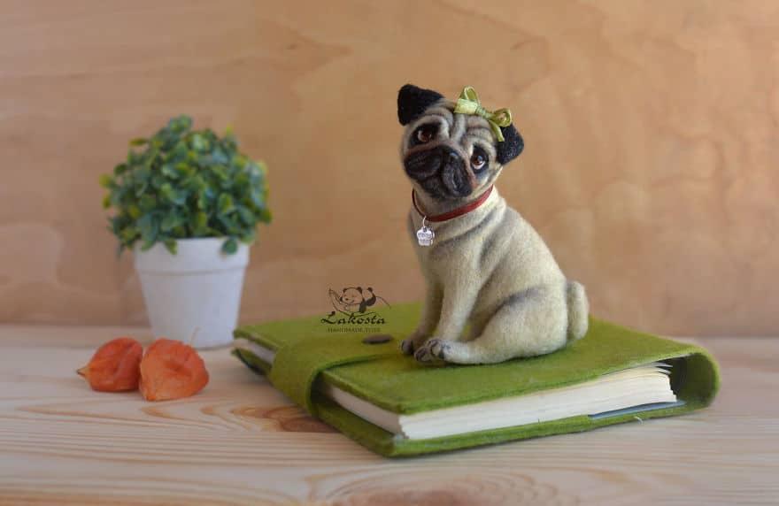 20 Cutest Felted Toys Ever By LaKosta 59b2b3ba08b43 880 - Cute Banget, Kamu Pasti Gak Nyangka Kalau 18 Miniatur Hewan Ini Dibuat dari Kain Wol