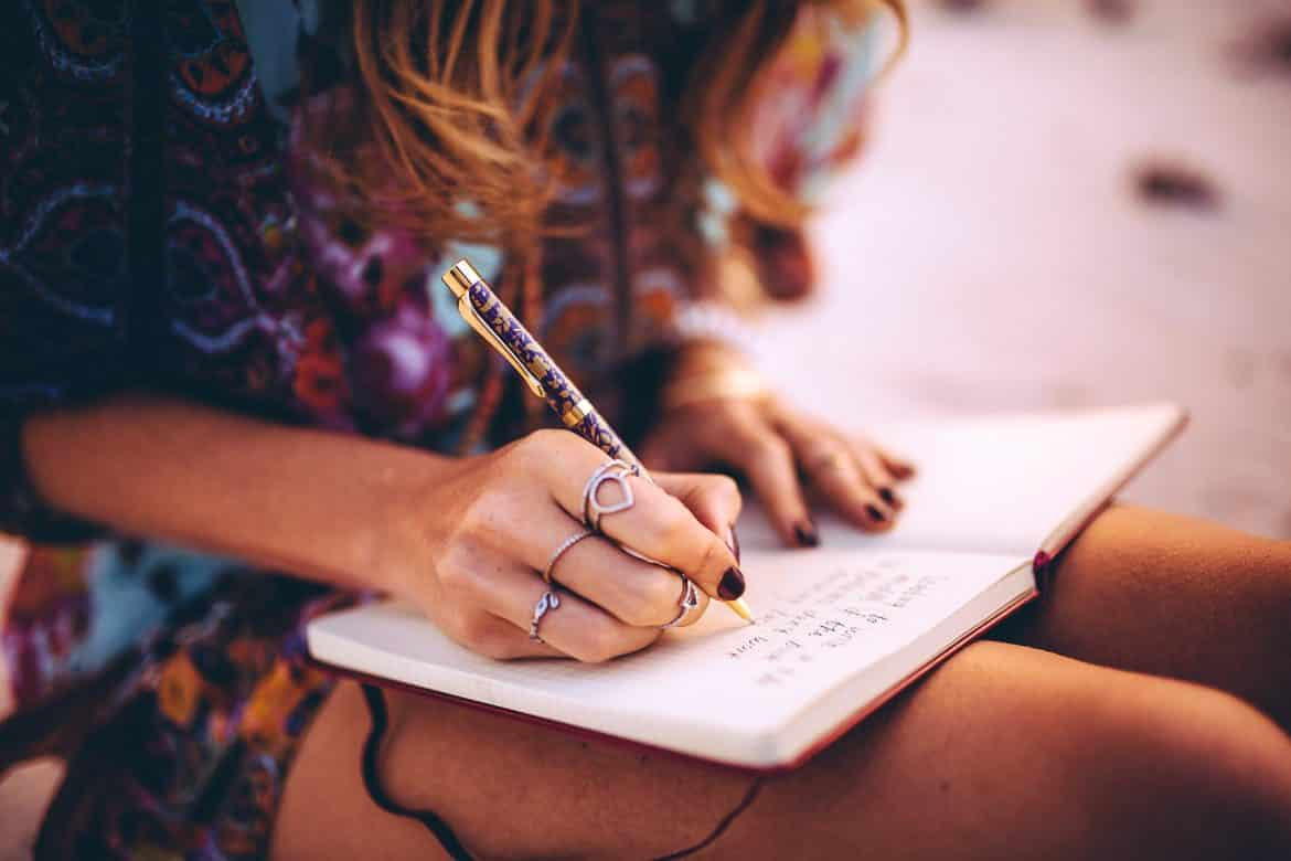 Image result for girl writing goals