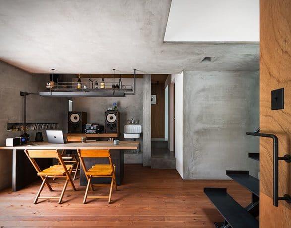 6 587x460 - Meski Lahan Terbatas, Rumah Bisa Terlihat Fotogenik dengan 9 Inspirasi Desain Minimalis Ini