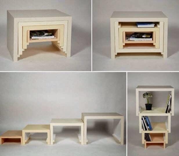 Multifunctional furniture ideas - Rumah Bebas Berantakan, Sekaligus jadi Lebih Indah dengan 10 Benda Mulltifungsi Ini