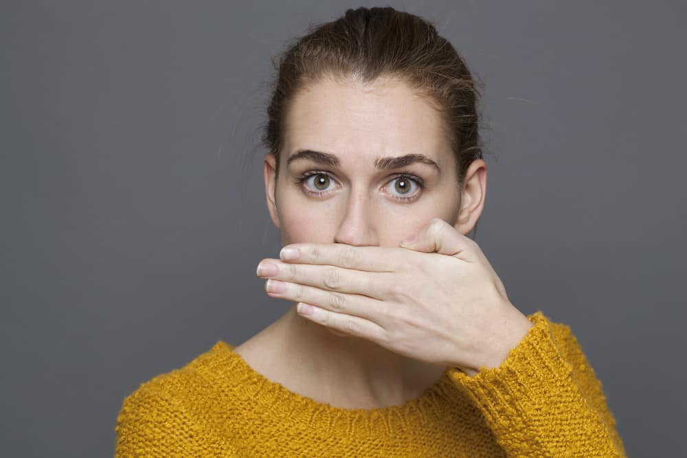 Image result for woman for fresh breath