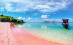 Pink Beach Komodo National Park Flores. 240x150 - Belum Banyak yang Tahu, 7 Tempat Wisata di Indonesia Ini Wajib Masuk dalam Daftar Liburanmu