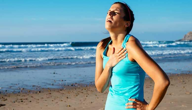 Image result for woman tired running