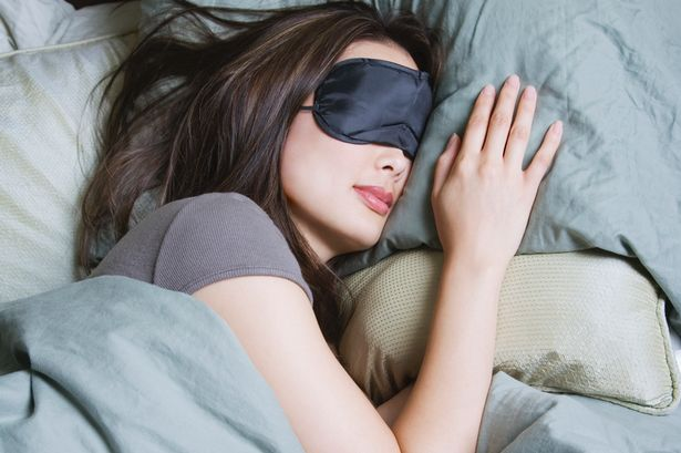 Image result for woman use sleep mask