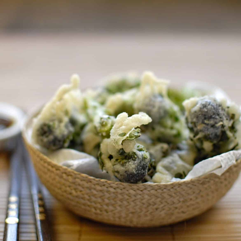 1. Tempura Brokoli