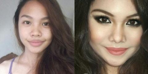 gallery-1463594224-hotspot-celebrity-transformations-003 Wow, Cewek Ini Menjelma Jadi 5 Selebriti Hollywood Hanya dengan Menggunakan Makeup