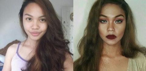 gallery-1463594369-hotspot-celebrity-transformations-011 Wow, Cewek Ini Menjelma Jadi 5 Selebriti Hollywood Hanya dengan Menggunakan Makeup