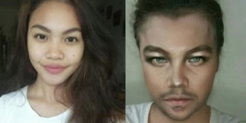 gallery-1463594473-hotspot-celebrity-transformations-005 Wow, Cewek Ini Menjelma Jadi 5 Selebriti Hollywood Hanya dengan Menggunakan Makeup