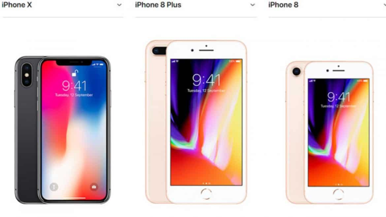 3. Untuk Ukuran, iPhone 8 Lebih Kecil dan Ringan Dibandingkan dengan iPhone X