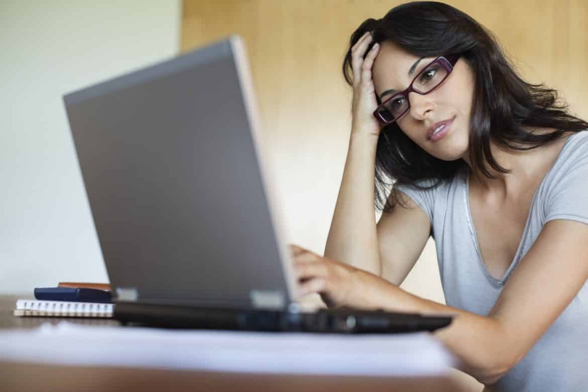Image result for woman use computer
