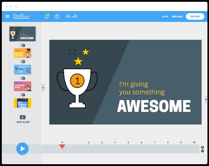 pawtoon frame2 - Sukseskan Presentasi dengan Template Powerpoint Gratis dari 8 Website Keren Ini