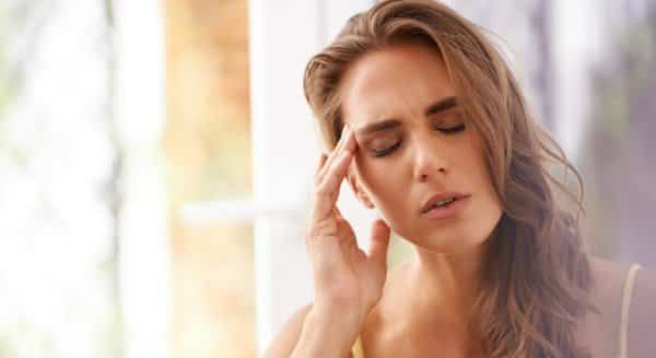 Image result for woman getting headaches