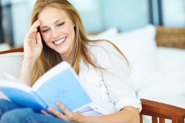 Image result for woman reading books