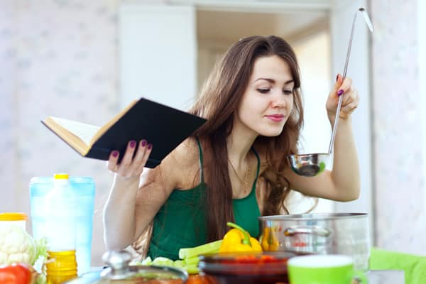 Image result for young woman cook