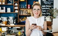 young woman in glasses 240x150 - Kamu yang Berkacamata Gak Boleh Lewatin 6 Tips yang Bermanfaat Ini