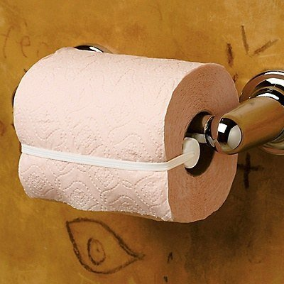 This toilet paper saver.