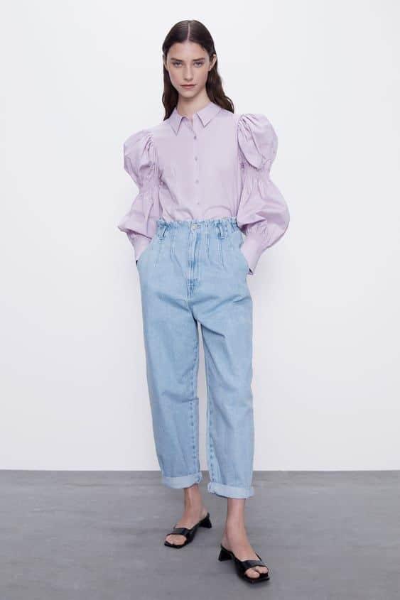 gaya baggy jeans